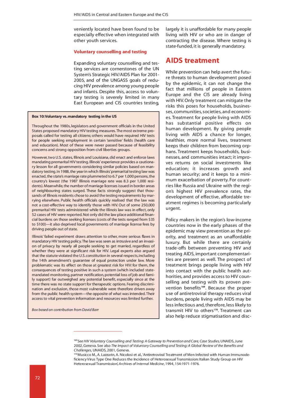 Reversing the HIV/AIDS epidemic