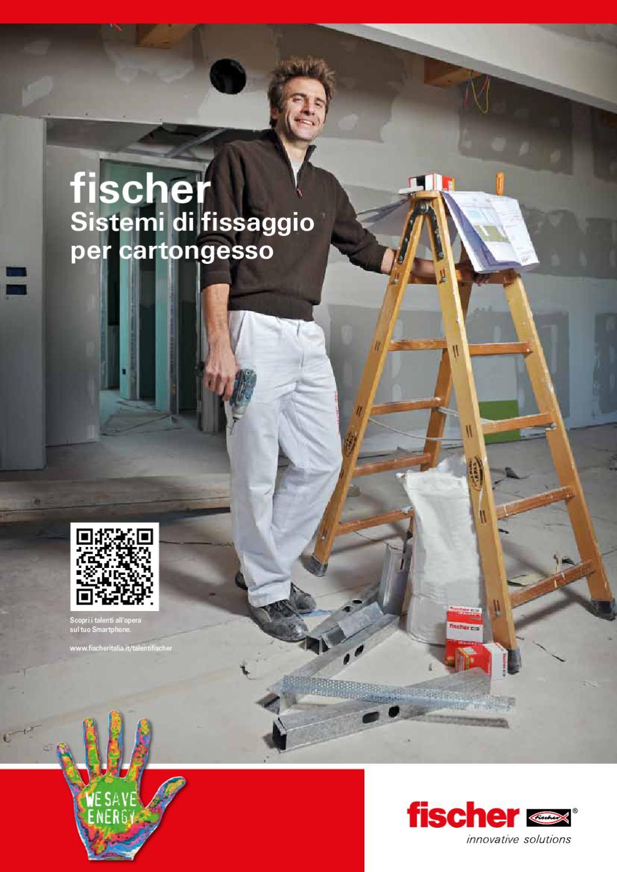 Fischer tasselli in nylon UX 6 con occhiolo aperto 4+4 PZ x murature 71908 ø 6mm