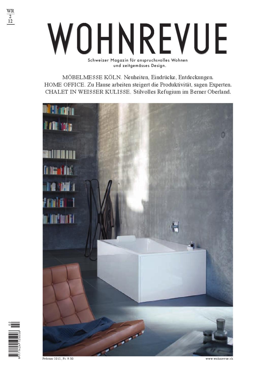 Wohnrevue 02/12 by Boll Verlag - issuu