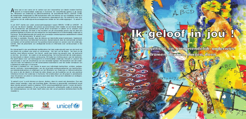 Visieboek Van Het Programma Effectievere Scholen Suriname Progress