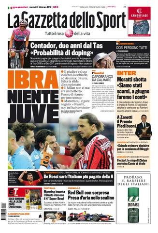 La Gazzetta dello Sport 7 2 2012 by LBG Laziali bella gente - issuu b66160ba9c06