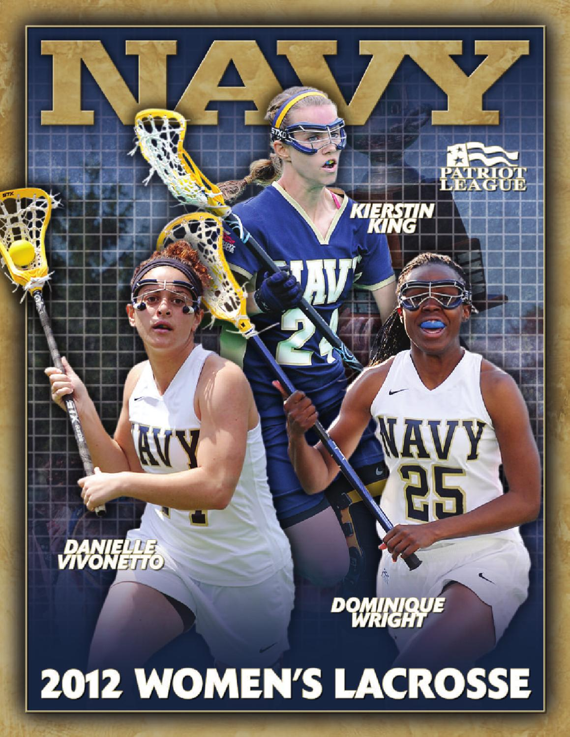 ce179fd2 2012 Women's Lacrosse Guide by Naval Academy Athletic Association - issuu