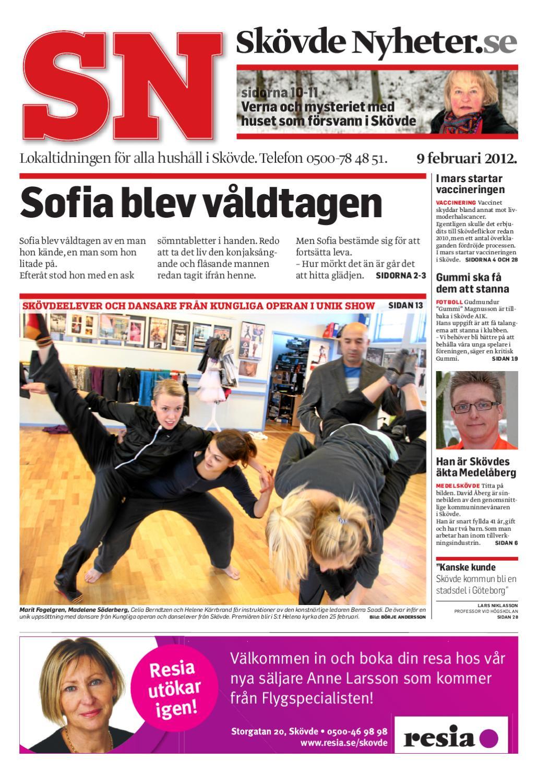 Skövde Nyheter by Skövde Nyheter - issuu 6a761e7a72671