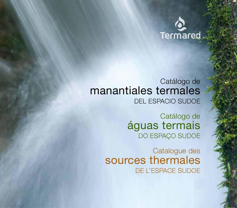 Catalogo Manantiales Termared by cesiga cesiga - issuu