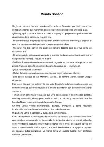 536313af Mundo soñado by Editorial ROVE - issuu