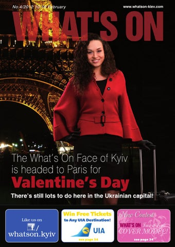 What's On Kyiv Issue 4 2012 by PAN Publishing - issuu