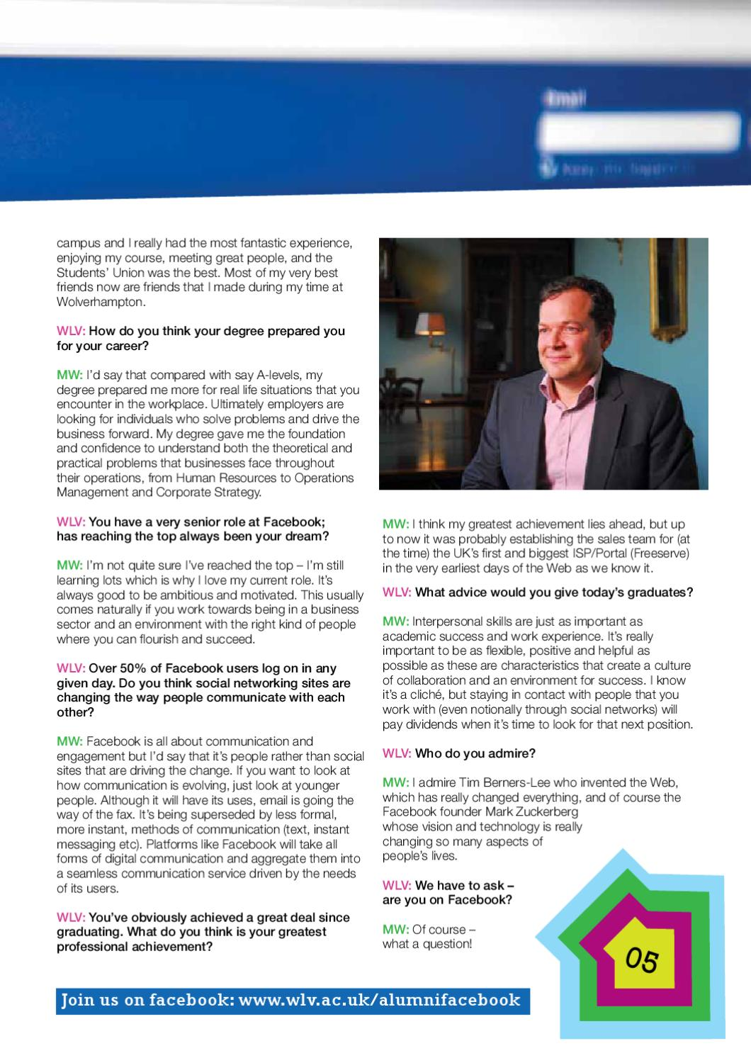 WLV Life by University of Wolverhampton - issuu Great People Portal on