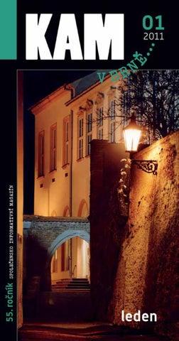 KAm v Brně... 01 2011 by TIC BRNO 00cdade238b