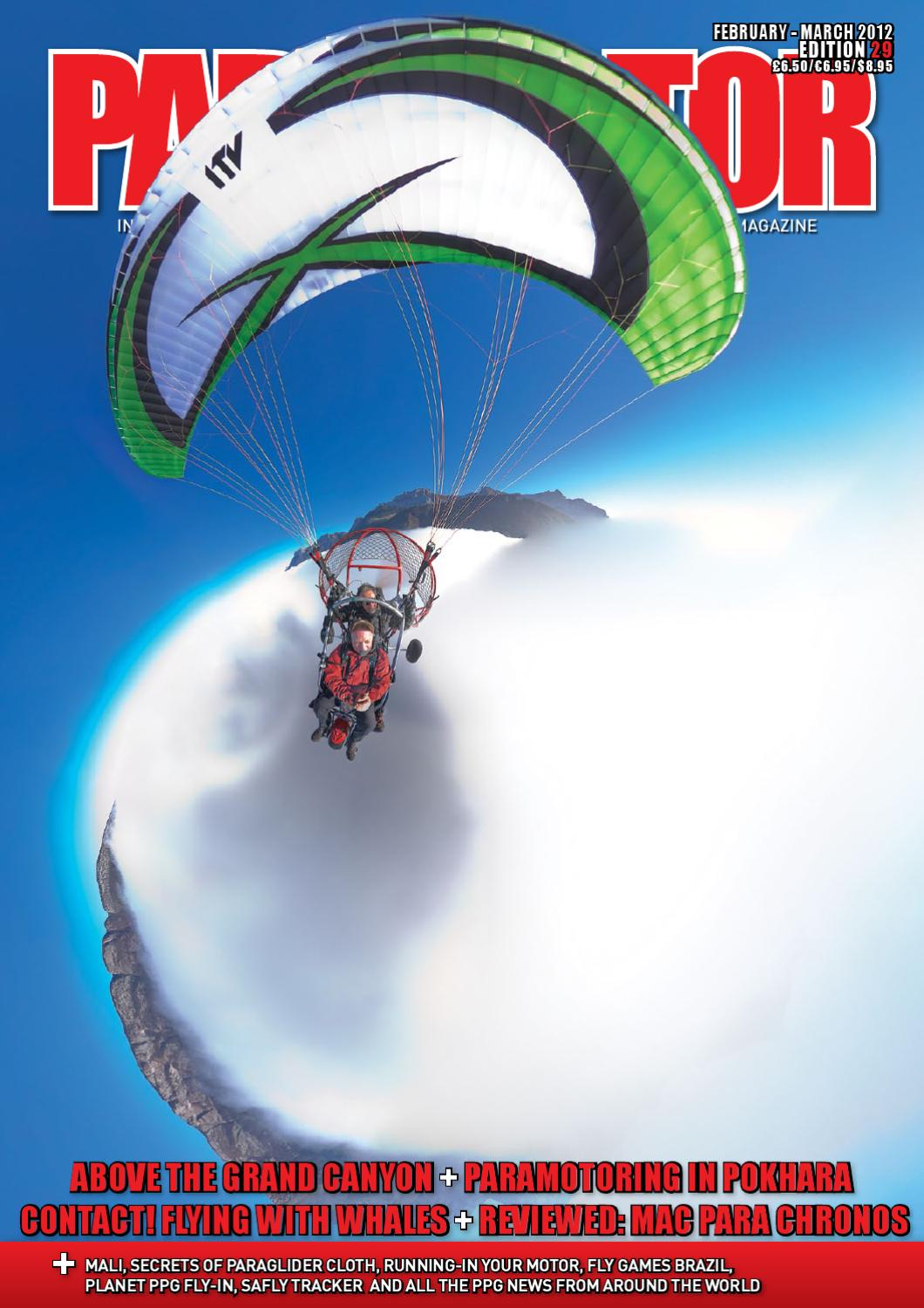 Paramotor Magazine Issue 31 Preview By Cross Country