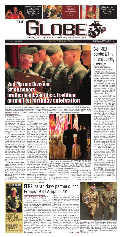 Globe Feb 8, 2012 by Military News - issuu