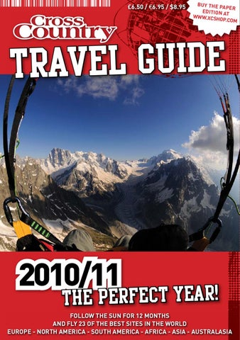 Cross Country Travel Guide 2010 11 By Magazine