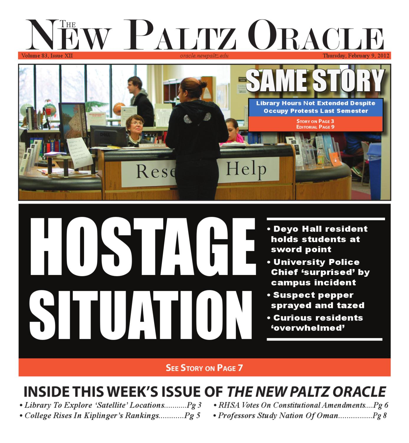 The New Paltz Oracle Volume 83 Issue12 by The New Paltz Oracle issuu
