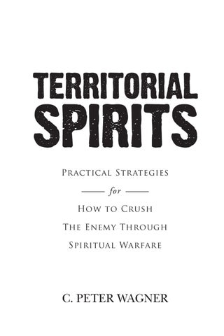 Page 1 Practical Strategies For How To Crush The Enemy Through Spiritual Warfare