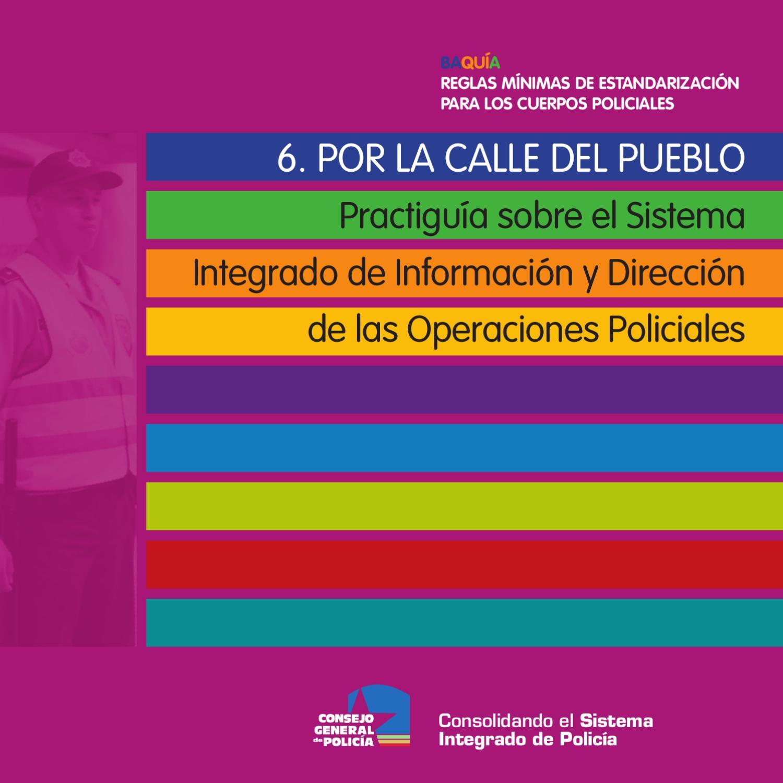 Guia 6 - Vigilancia y patrullaje by Formación Sistematización - issuu