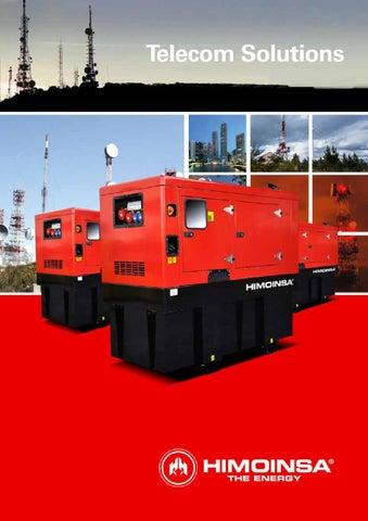 himoinsa diesel generator for telecom solutions by nicolas bastida rh issuu com himoinsa generator parts himoinsa generator specs