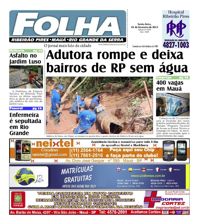 Folha Ribeirão Pires - Edição 1638 by Folha Pires - issuu ac5fbf693ba8d