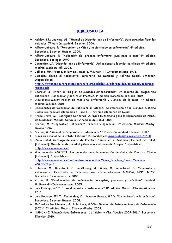 Guia Para La Elaboracion De Planes De Cuidados Para La Lactancia En Diabetes  Extremadura 2011