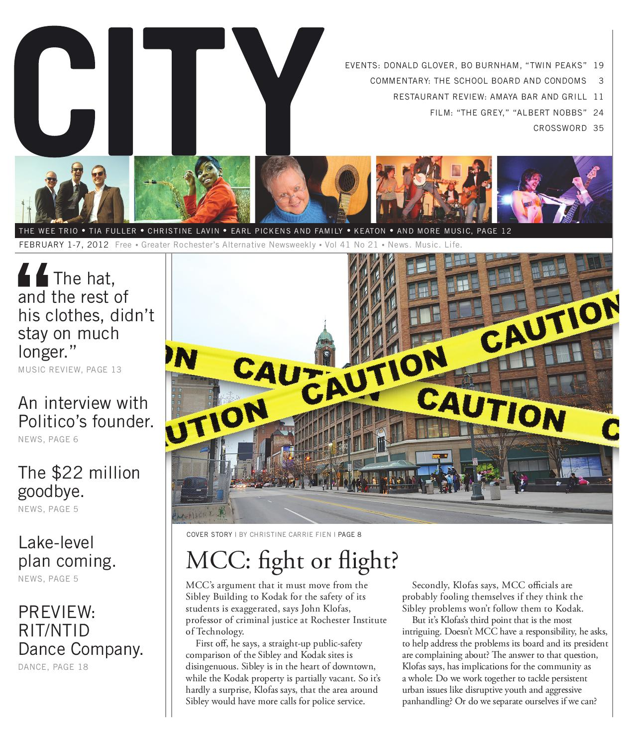 February 1 7 2012 City Newspaper By Rochester City News Arts Life Issuu