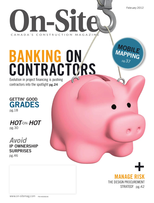 On-Site Magazine February 2012
