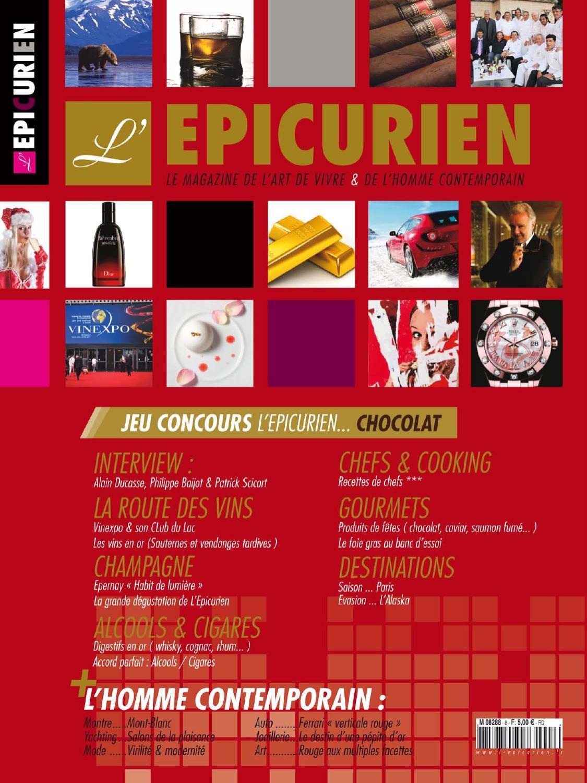 62664bb745b3 L EPICURIEN magazine 108 by Tony Barusta - issuu