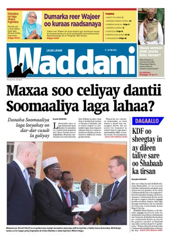 Waddani issue # 32