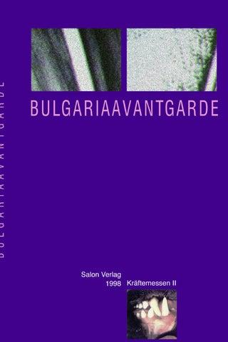 BulgariaAvantgarde. Kraftemessen II, 1998 By Luchezar Boyadjiev   Issuu