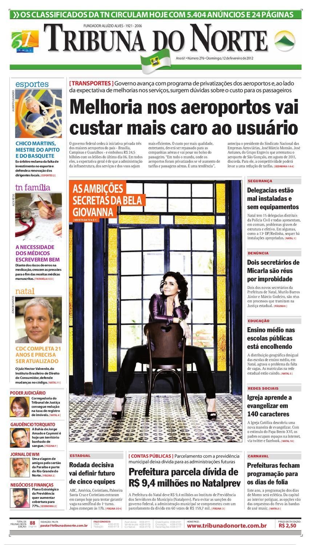 4b8e0e177a3f5 Tribuna do Norte - 12 02 2012 by Empresa Jornalística Tribuna do Norte Ltda  - issuu