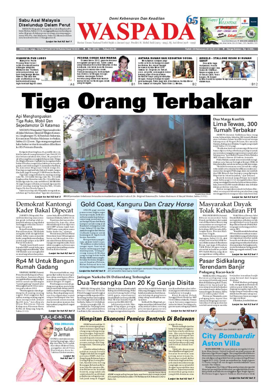 WaspadaMinggu 12 Februari 2012 By Harian Waspada Issuu