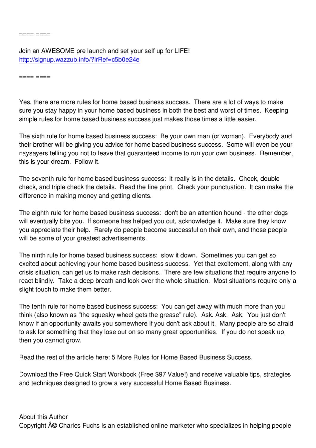 Home based business by suz suzebusiness - issuu
