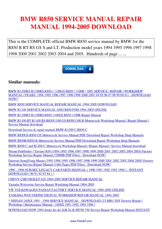 1998 nissan 240sx service factory repair manual download
