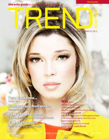 8736c37a Trend Feb / March 2012 by Trend Productions Ltd. - issuu