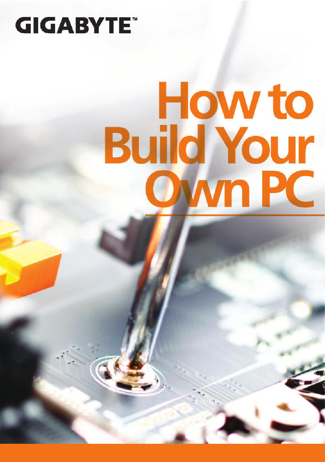 how to build your own pc