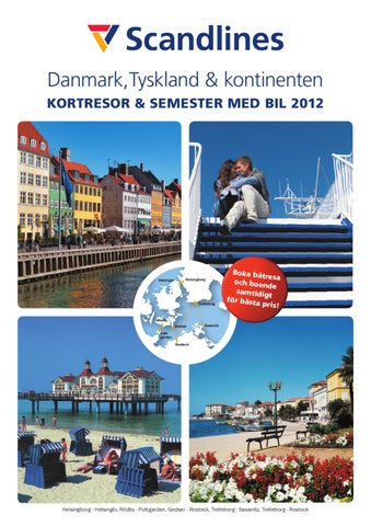 7a1569232f0 Danmark,Tyskland & kontinenten KORTRESOR & SEMESTER MED BIL 2012  HELSINGFORS Espoo