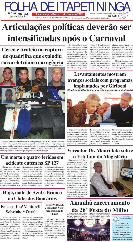 e4dbe0ba4a Folha 12 02 by Jornal Folha de Itapetininga - issuu