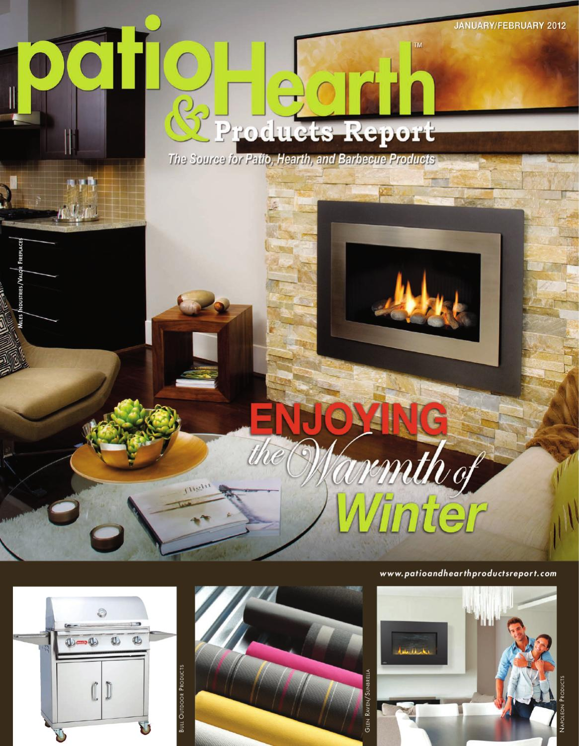 Remarkable Patio And Hearth Products Report Jan Feb 2012 By Peninsula Download Free Architecture Designs Salvmadebymaigaardcom