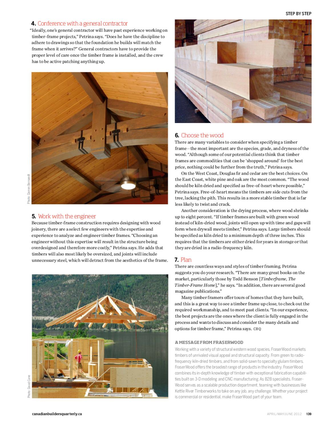 Canadian Builders Quarterly By Guerrero Issuu