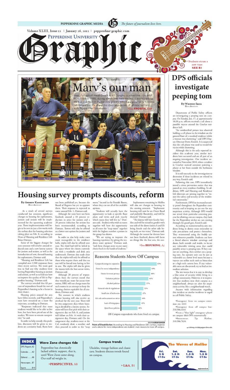 260dae5a5adf Pepperdine Graphic 1.26.12 by The Pepperdine Graphic - issuu