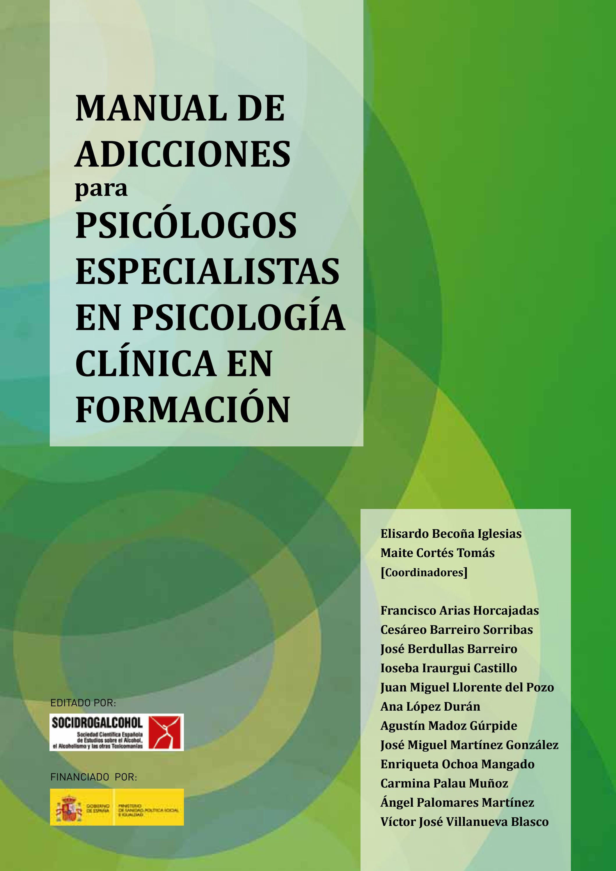 W213 Manual De Adicciones Para Psicólogos Especialistas