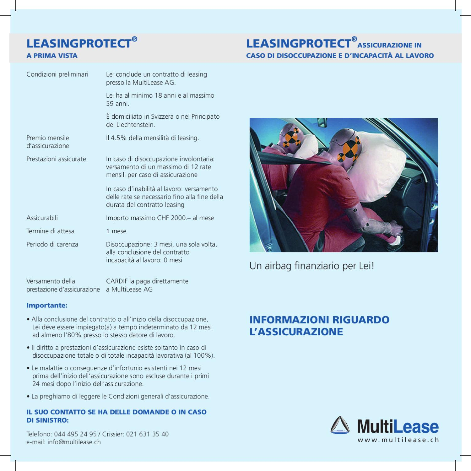 MultiLease Leasingprotect I by Autoglobal AG - Issuu Multilease