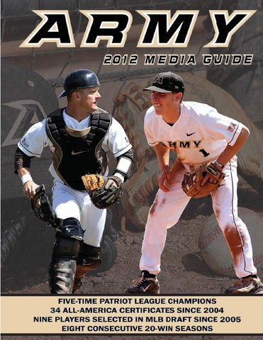 2012 Army Baseball Media Guide by Army West Point Athletics - issuu 22d19f39f98e