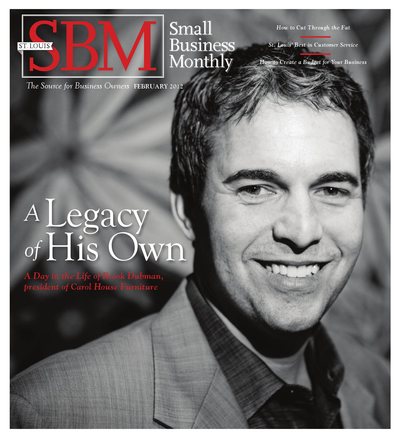 SBM February 2012 Excerpt By St. Louis Small Business Monthly   Issuu