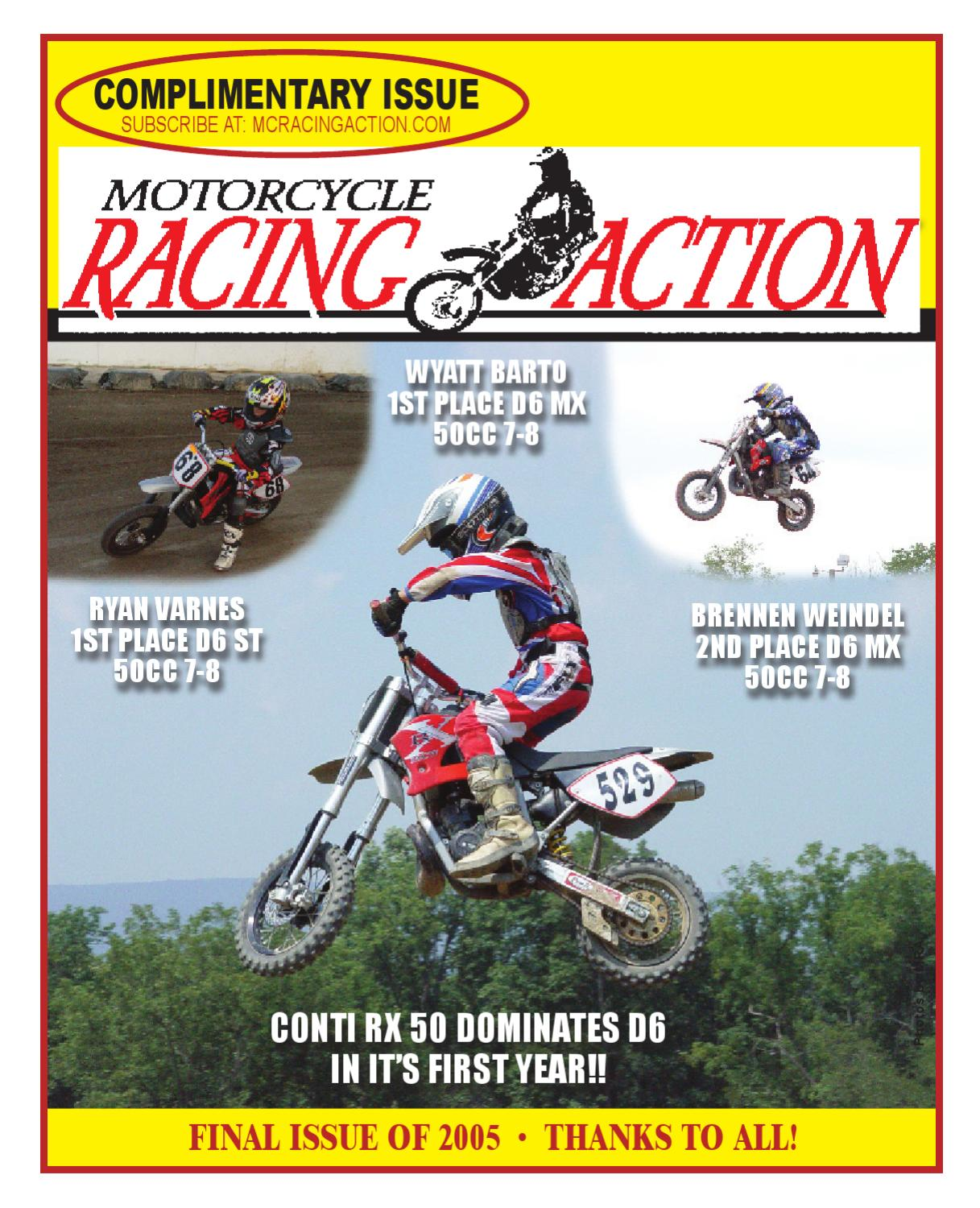 MRA Dec 2005 By Motorcycle Racing Action