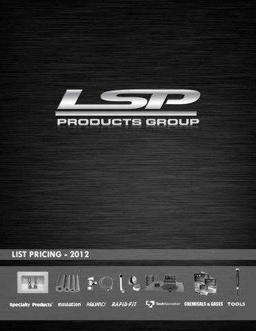 LSP Price List by McKinney Agency - issuu
