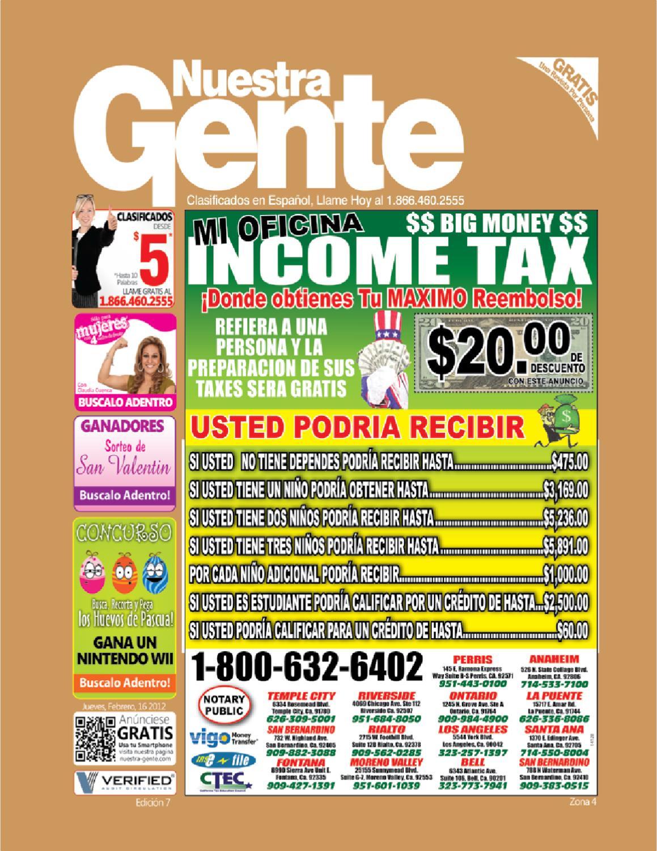 Nuestra Gente Edicion 7 zona 4 by Nuestra Gente - issuu