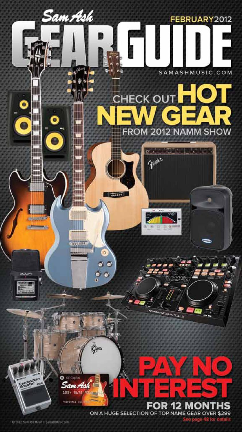 Sam Ash Gear Guide February 2012 By Music Corp Issuu Remote Controller Wiring 25mm Miniplug And N3 Plug Tom Held
