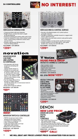 Sam Ash Gear Guide February 2012 by Sam Ash Music Corp  - issuu