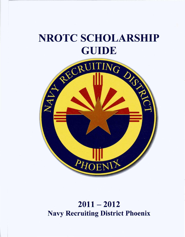 NROTC Scholarship Guide by NRD Phoenix