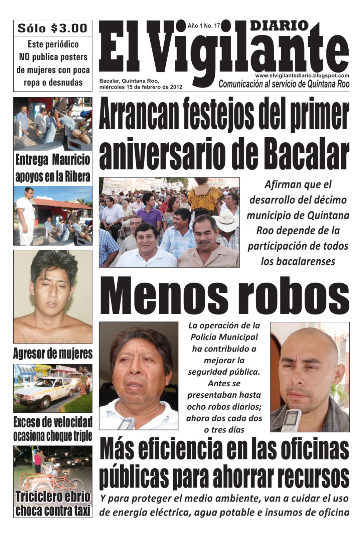 Edicion 17 bacalar by cinthia caballero issuu - Oficina municipal del taxi ...
