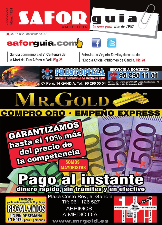 Semana Del 16 Al 22 De Febrero De 2012 By Saforguia Mediaserviocio  # Muebles Casal Tauste