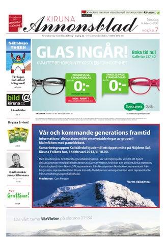 1d3784fab5e Kiruna Annonsblad 2012 v.07 by Svenska Civildatalogerna AB - issuu